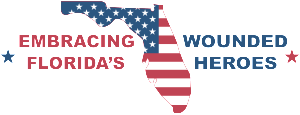 Embracing Florida's wounded Heroes flag Tampa Bay fishing report supports