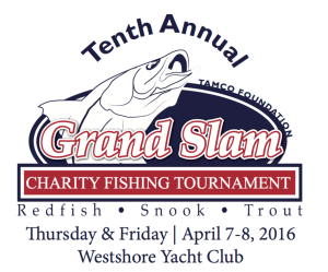 Tampa Bay fishing report TAMCO supports 10th annual grand slam charity tournament