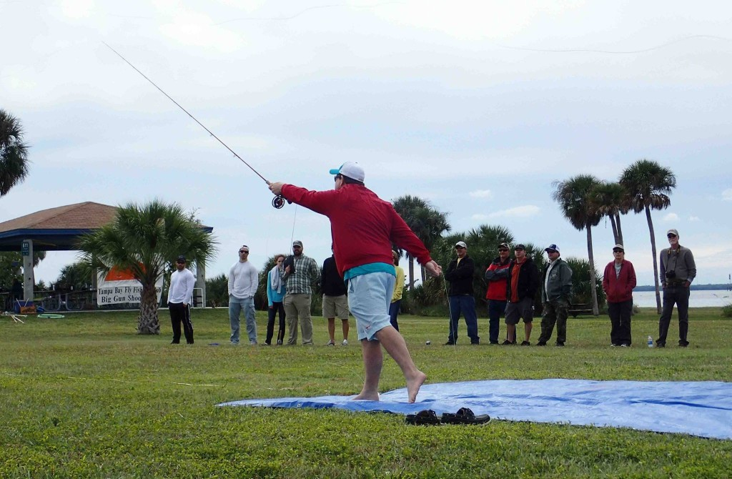 Tampa Bay fly fishing club Fly casting clinic