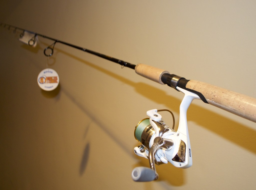 GIVE-A-WAY ROD REEL COMBO LONG GIVE-A-WAY