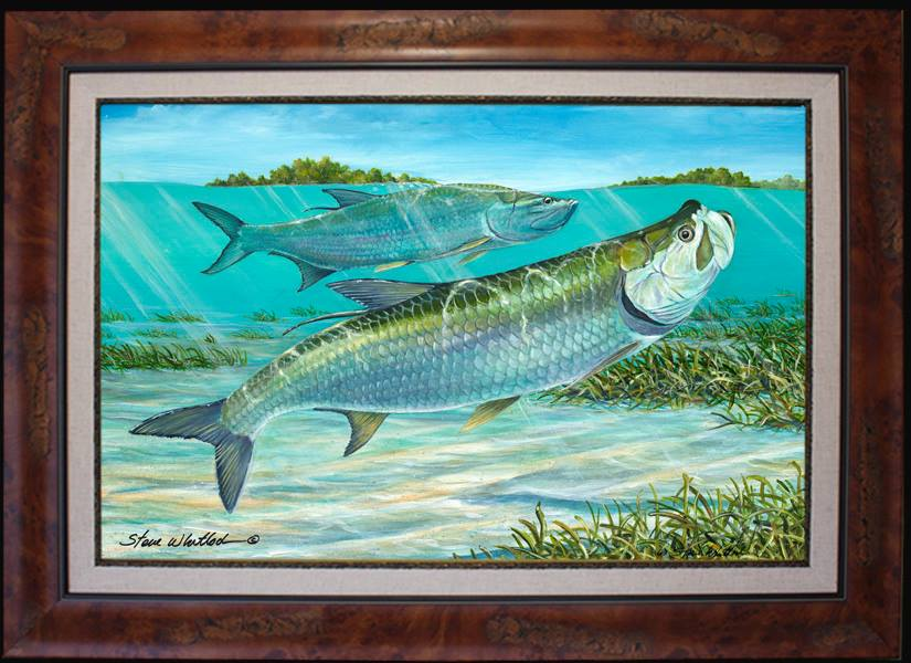 Tampa Bay Artist steve whitlock silver kings