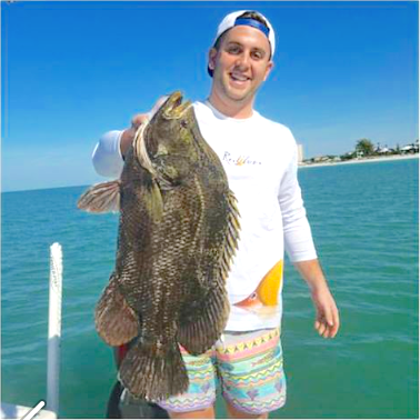 new year triple tail tampa bay fishing report